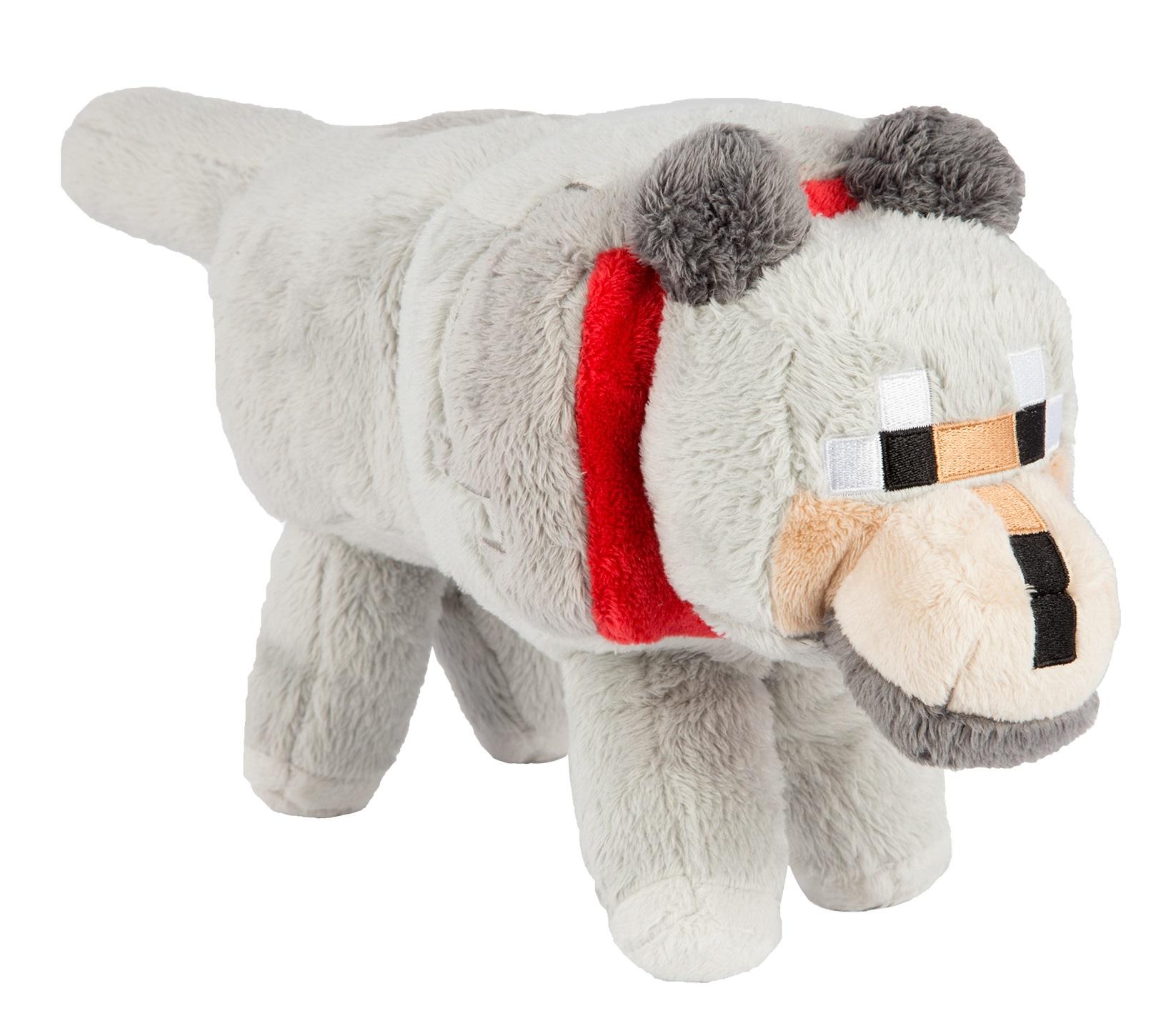 Мягкая игрушка Minecraft: Wolf (38 см)Мягкая игрушка Minecraft: Wolf создана для настоящих ценителей компьютерной игры Майнкрафт.<br>