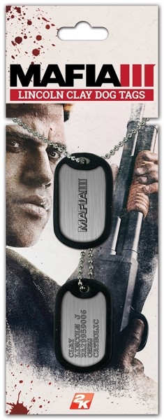 Жетоны Mafia 3: Dog Tags Clay Lincoln