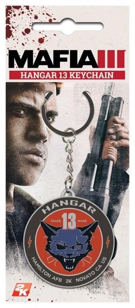 Брелок Mafia 3: Hangar 13Брелок Mafia 3: Hangar 13 создан по мотивам приключенческого боевика, который погружает игрока в мир организованной преступности.<br>