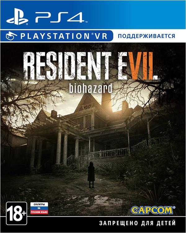 Resident Evil 7: Biohazard (поддержка VR) [PS4]Игра Resident Evil 7: Biohazard  – новое слово в истории культовой серии. Это возвращение к истокам и то же время нечто совершенно новое. Начинается новая эпоха в развитии интерактивных триллеров.<br>