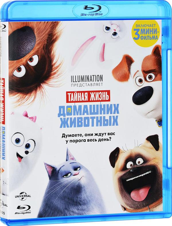 Тайная жизнь домашних животных (Blu-ray) The Secret Life of PetsМультфильм Тайная жизнь домашних животных повествует о том, что делают домашние животные пока хозяева пропадают на работе? С тоской смотрят в окно? Смиренно дремлют на коврике у двери? Как бы не так. Они ведут свою тайную жизнь.<br>