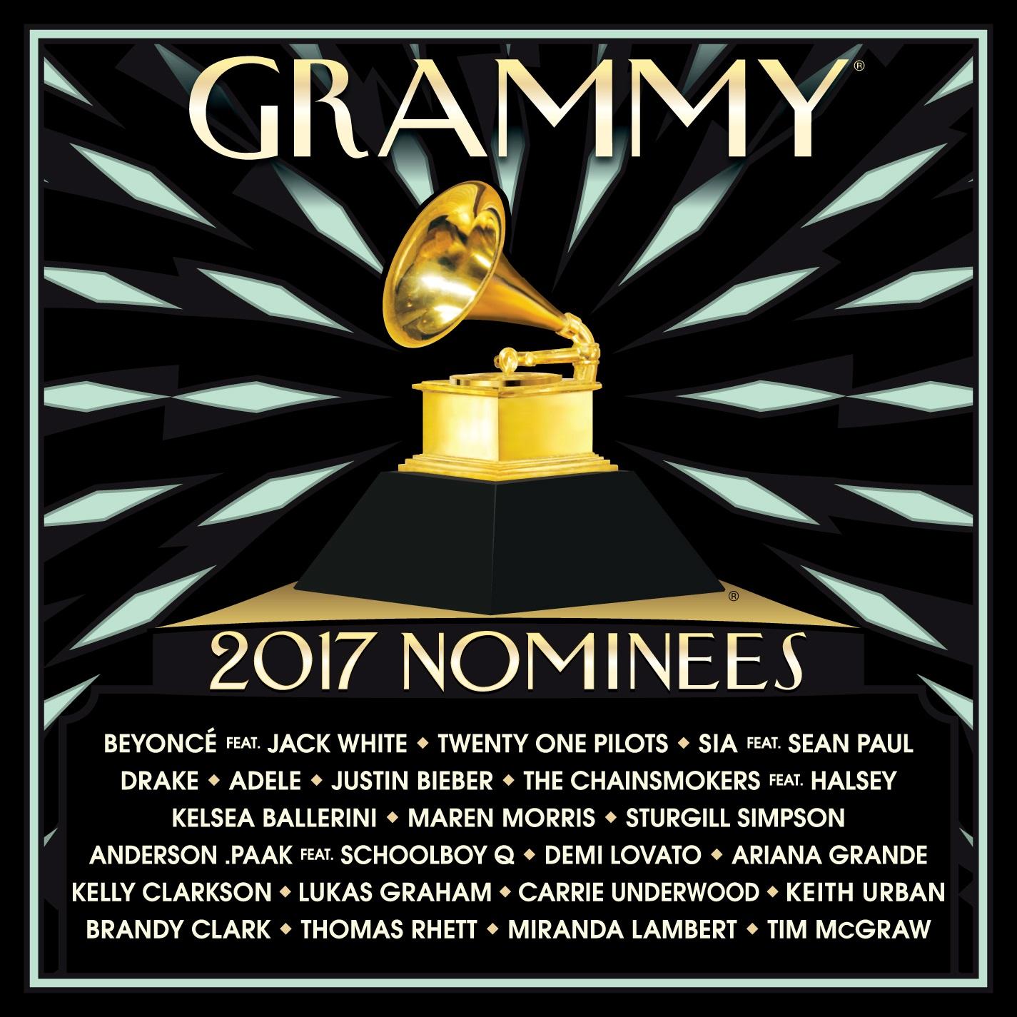 Сборник: 2017 Grammy Nominees (CD)