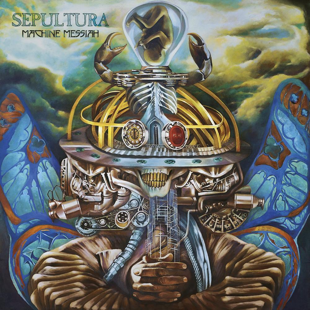 Sepultura – Machine Messiah (CD)