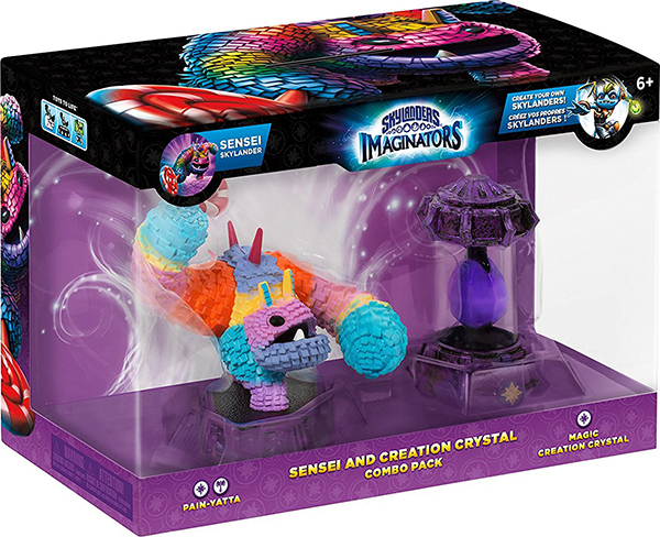 Skylanders Imaginators: Набор Combo Pack - Сэнсэй Painyatta+ кристалл Magic