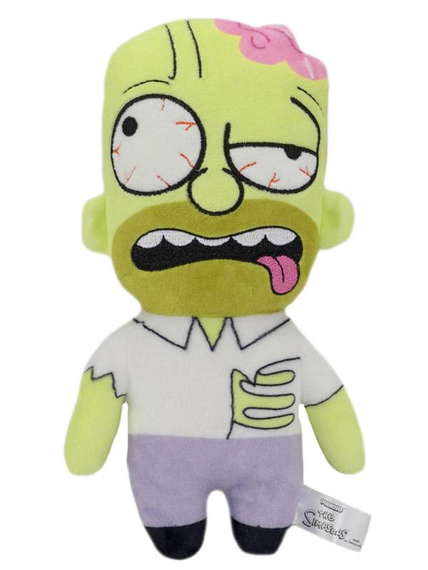 Мягкая игрушка Simpsons Zombie Homer (20 см)Что-то зловещее происходит в Спрингфилде, и это очень очаровательно. Прижавшись к плюшевому зомби Гомеру, вы поймете, что ходячие мертвецы не так уж сильно отличаются от нас с вами &amp;ndash; ведь настоящие друзья иногда слегка грызут мозг друг другу?<br>