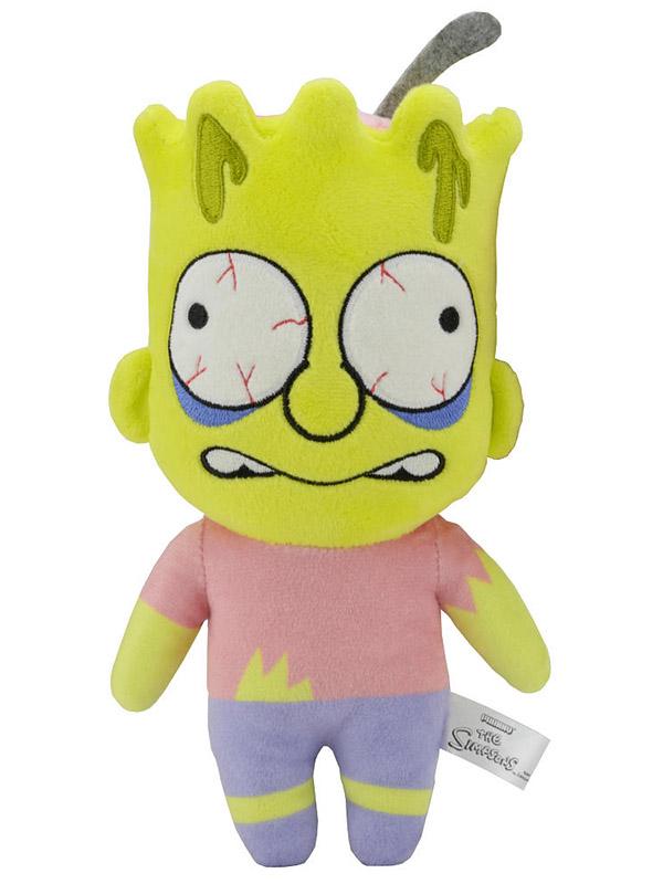 Мягкая игрушка Simpsons Zombie Bart (20 см)Что-то зловещее происходит в Спрингфилде, и это очень очаровательно. Прижавшись к плюшевому зомби Барту, вы поймете, что ходячие мертвецы не так уж сильно отличаются от нас с вами &amp;ndash; ведь настоящие друзья иногда слегка грызут мозг друг другу?<br>