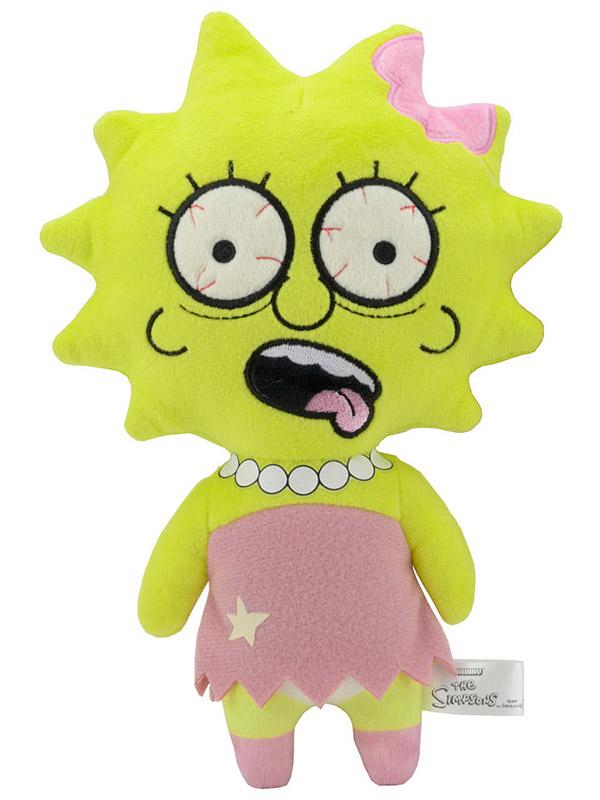 Мягкая игрушка Simpsons Zombie Lisa (20 см)Что-то зловещее происходит в Спрингфилде, и это очень очаровательно. Прижавшись к плюшевой зомби Лизе, вы поймете, что ходячие мертвецы не так уж сильно отличаются от нас с вами &amp;ndash; ведь настоящие друзья иногда слегка грызут мозг друг другу?<br>