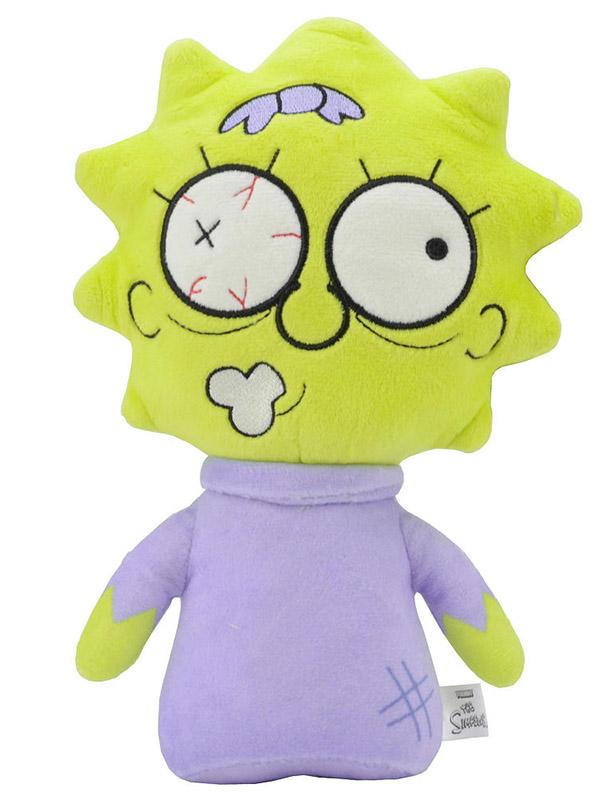 Мягкая игрушка Simpsons Zombie Maggie (20 см)Что-то зловещее происходит в Спрингфилде, и это очень очаровательно. Прижавшись к плюшевой зомби Мэгги, вы поймете, что ходячие мертвецы не так уж сильно отличаются от нас с вами &amp;ndash; ведь настоящие друзья иногда слегка грызут мозг друг другу?<br>