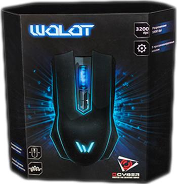 Мышь Qcyber Wolot проводная лазерная игровая для PC