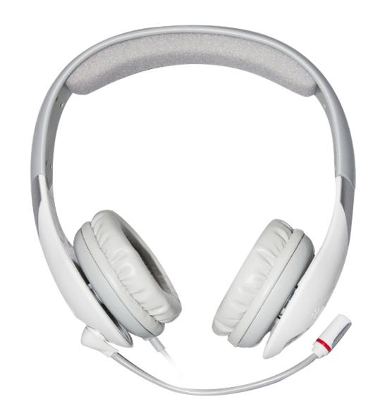 Проводная гарнитура Qcyber Neon White для PCГарнитура имеет встроенную звуковую плату системы 7.1 с поддержкой Dolby Headphone и Pro Logic, а это означает, что игровая гарнитура Neon White  позволяет насладиться глубоким, насыщенным и невероятно точным пространственным звучанием.<br>