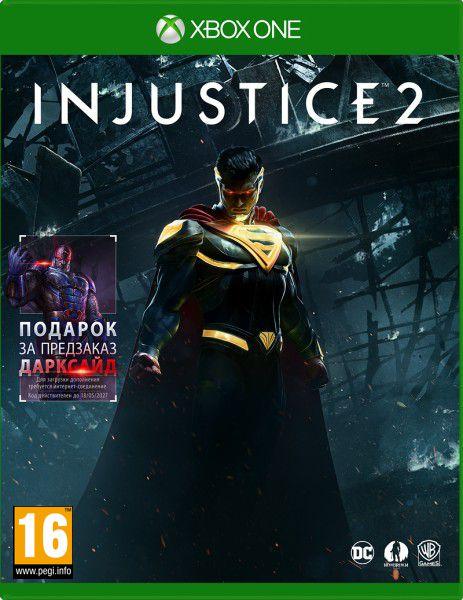 Injustice 2 [Xbox One]Закажите игру Injustice 2 до 17:00 часов 17 мая 2017 года и получите доступ к персонажу Дарксайд.<br>