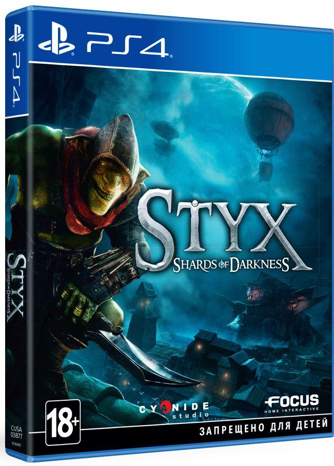 Styx: Shards of Darkness [PS4]Styx: Shards of Darkness – это сиквел игры Styx: Master of Shadows, выпущенной в октябре 2014 года, который продолжит повествование о гоблине Стиксе – отъявленном негодяе, убийцы и по совместительству хитроумном зеленом гоблине.<br>