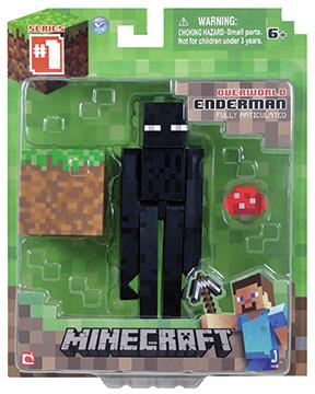 Фигурка Minecraft  Core Enderman с аксессуарами (6 см) набор игровой c фигуркой и аксессуарами minecraft зомби