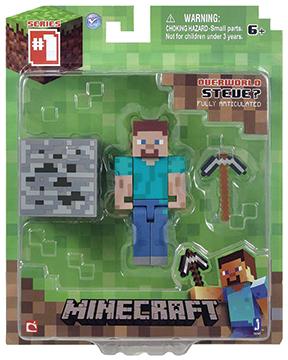 Фигурка Minecraft Steve с аксессуарами (6 см)Фигурка Minecraft Steve с аксессуарами, выпущенная фирмой Jazwares, создана по мотивам популярной компьютерной игры.<br>