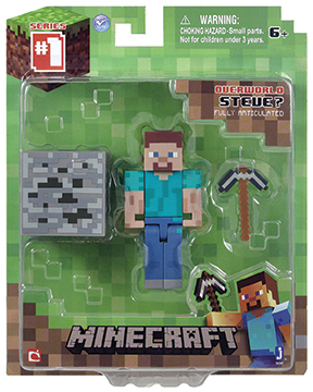 Фигурка Minecraft Steve с аксессуарами (6 см) фигурка minecraft adventure steve 10 см