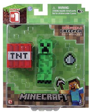 Фигурка Minecraft Creeper с аксессуарами (6 см)Фигурка Minecraft Creeper с аксессуарами, выпущенная фирмой Jazwares, создана по мотивам популярной компьютерной игры.<br>