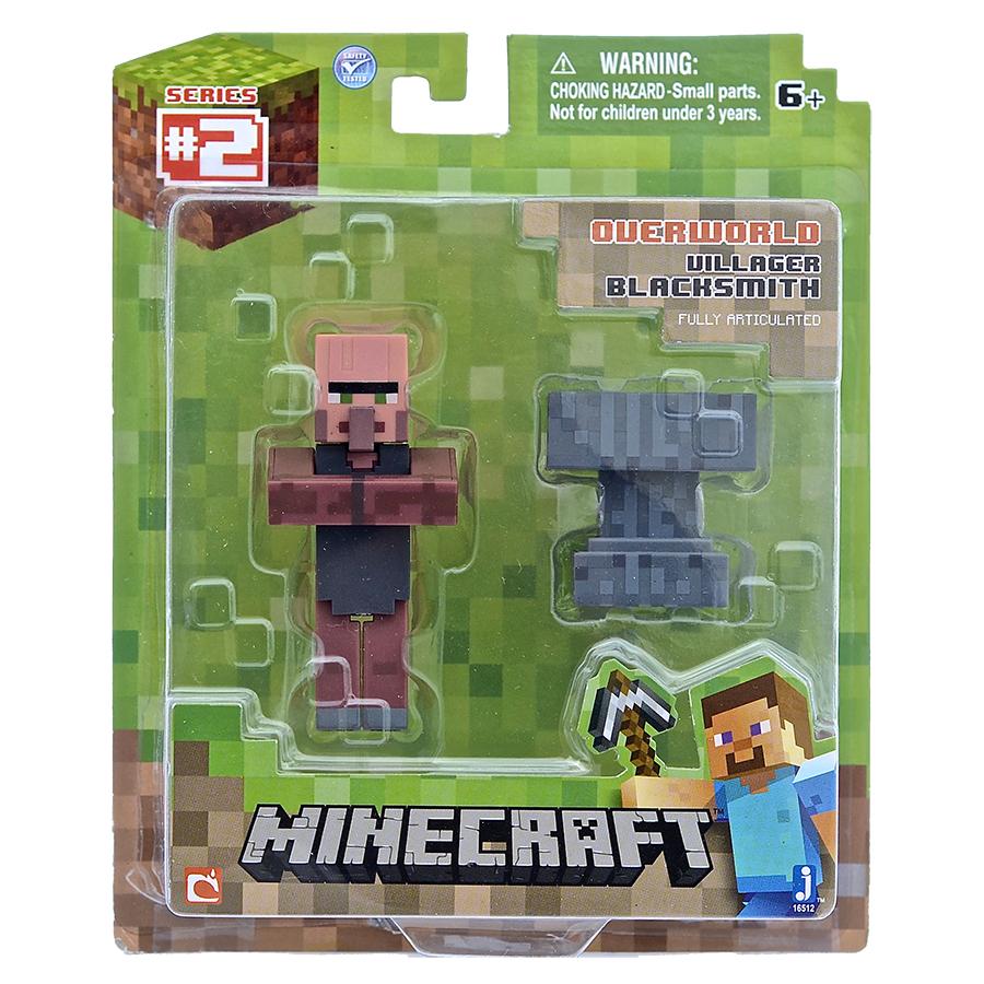 Набор фигурок Minecraft. Blacksmith with Apron and Anvil (8 см)Набор фигурок Minecraft. Blacksmith with Apron and Anvil создан по мотивам популярной игры и воплощает собой кузнеца в фартуке с наковальней.<br>