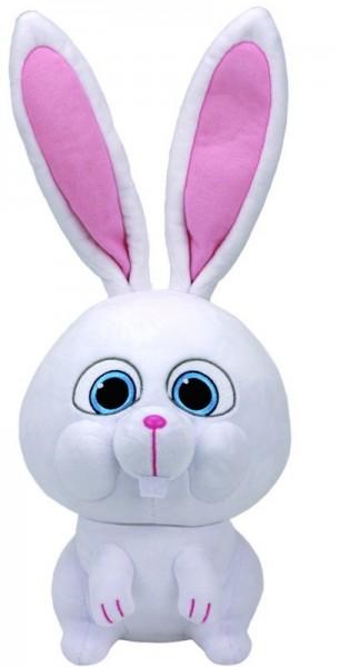 Мягкая игрушка Тайная жизнь домашних животных: Кролик Снежок (20 см)Мягкая игрушка Тайная жизнь домашних животных: Кролик Снежок создана по мотивам американской анимационной комедии «Тайная жизнь домашних животных».<br>