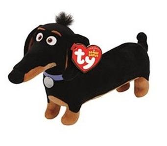 Мягкая игрушка Тайная жизнь домашних животных: Такса Бадди (20 см)