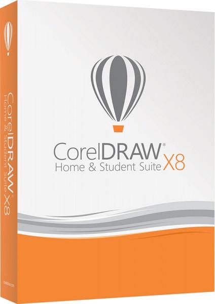 CorelDRAW Home &amp; Student Suite X8 (Цифровая версия)Представляем вашему вниманию программу CorelDRAW Home &amp; Student Suite X8 &amp;ndash; экономически эффективный универсальный графический пакет для домашних пользователей, который содержит простые в использовании инструменты трассировки и макетирования, а также профессиональные средства для редактирования фотоснимков, представленные в Corel PHOTO-PAINT и Corel AfterShot.<br>