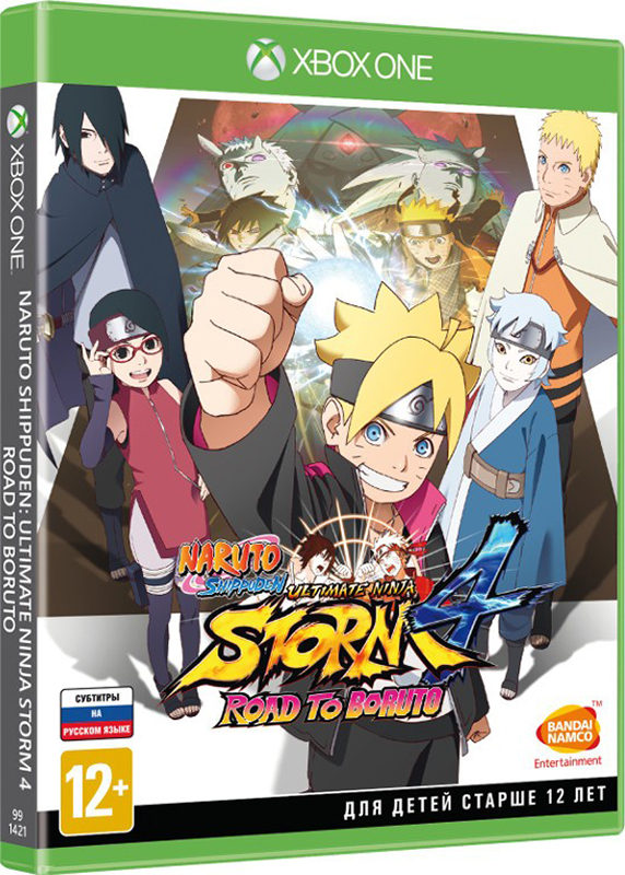 Naruto Shippuden: Ultimate Ninja Storm 4: Road to Boruto [XboxOne]Naruto Shippuden Ultimate Ninja Storm 4: Road to Boruto это игра жанра приключение/файтинг, которая завершает историю Наруто и представляет новое поколение ниндзя, главным образом Боруто, сына Наруто.<br>