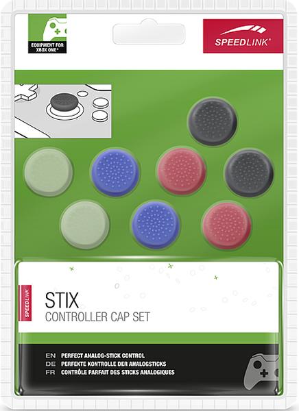 Защитные накладки STIX Controller Cap Set на стики геймпада Xbox One (8 шт., разноцветные)STIX Controller Cap Set оптимизирует эргономику аналоговых стиков и благодаря этому улучшает их управляемость в сложных игровых ситуациях &amp;ndash; насадки устанавливаются практически мгновенно и их можно снять в любой момент, например, чтобы попробовать еще какой-нибудь из других четырех цветов.<br>