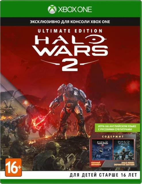 Halo Wars 2. Ultimate Edition [Xbox One]Стратегия в реальном времени возвращается во вселенную Halo с игрой Halo Wars 2: Спартанцы, «Вепри» и другие старые знакомые вступают в противостояние с новым ужасающим врагом на поле боя невиданных ранее размеров.<br>