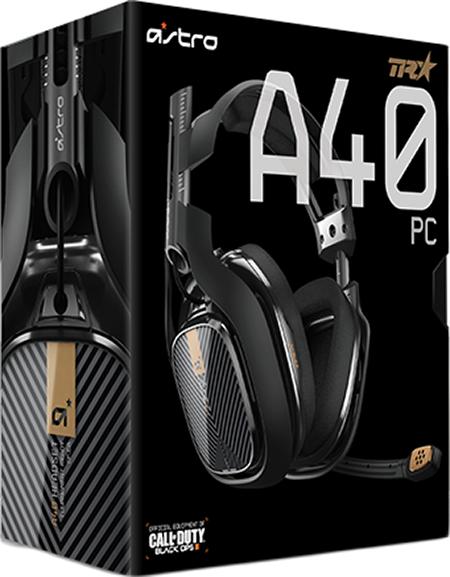 Гарнитура Astro A40 TR (черная) для PCОбновленная игровая гарнитура Astro A40 TR &amp;ndash; это высочайшее качество звука, невероятная гибкость применений и заменяемость деталей. В течение многих лет серия Astro A40 является золотым стандартом среди игровых наушников для консолей. Теперь у нас есть специальная гарнитура для тех, кто предпочитает щёлкать мышкой, а не нажимать на стики геймпадов.<br>