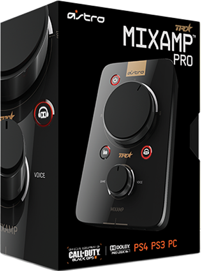 Усилитель MixAmp Pro TR Kit (черный) для PS4 / PS3 / PC / MacMixAmp Pro TR &amp;ndash; полностью обновленный ЦАП MixAmp Pro. Теперь он может использоваться как внешняя звуковая карта для ПК, самостоятельно обеспечивает виртуальный объемный звук Dolby 7.1 в наушниках на ПК и совместимых консолях. MixAmp Pro TR позволяет регулировать баланса звука и голоса, быстро менять настройки эквалайзера, обладает функцией микширования звука для стиминга, а несколько MixAmp Pro TR можно объединить для создания локальной сети голосового чата на турнире.<br>