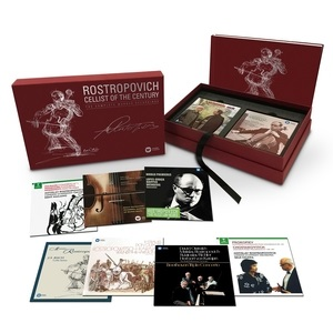 Mstislav Rostropovich: Cellist Of The Century – The Complete Warner Recordings (40 CD + 3 DVD)