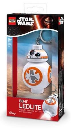 Брелок-фонарик для ключей LEGO Star Wars: Droid BB-8 lego lego брелок фонарик для ключей friends андрея