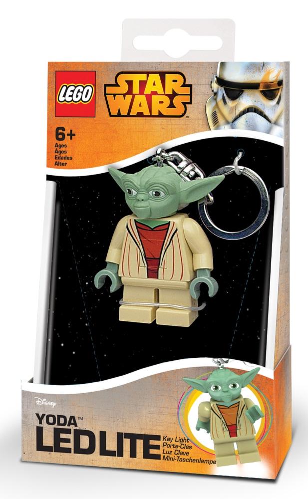 Брелок-фонарик для ключей LEGO Star Wars: Yoda lego lego брелок фонарик для ключей friends андрея
