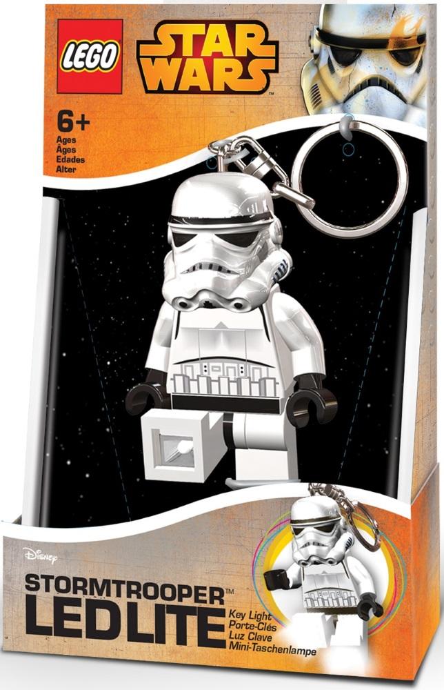 Брелок-фонарик для ключей LEGO Star Wars: Stormtrooper lego lego брелок для ключей джестро