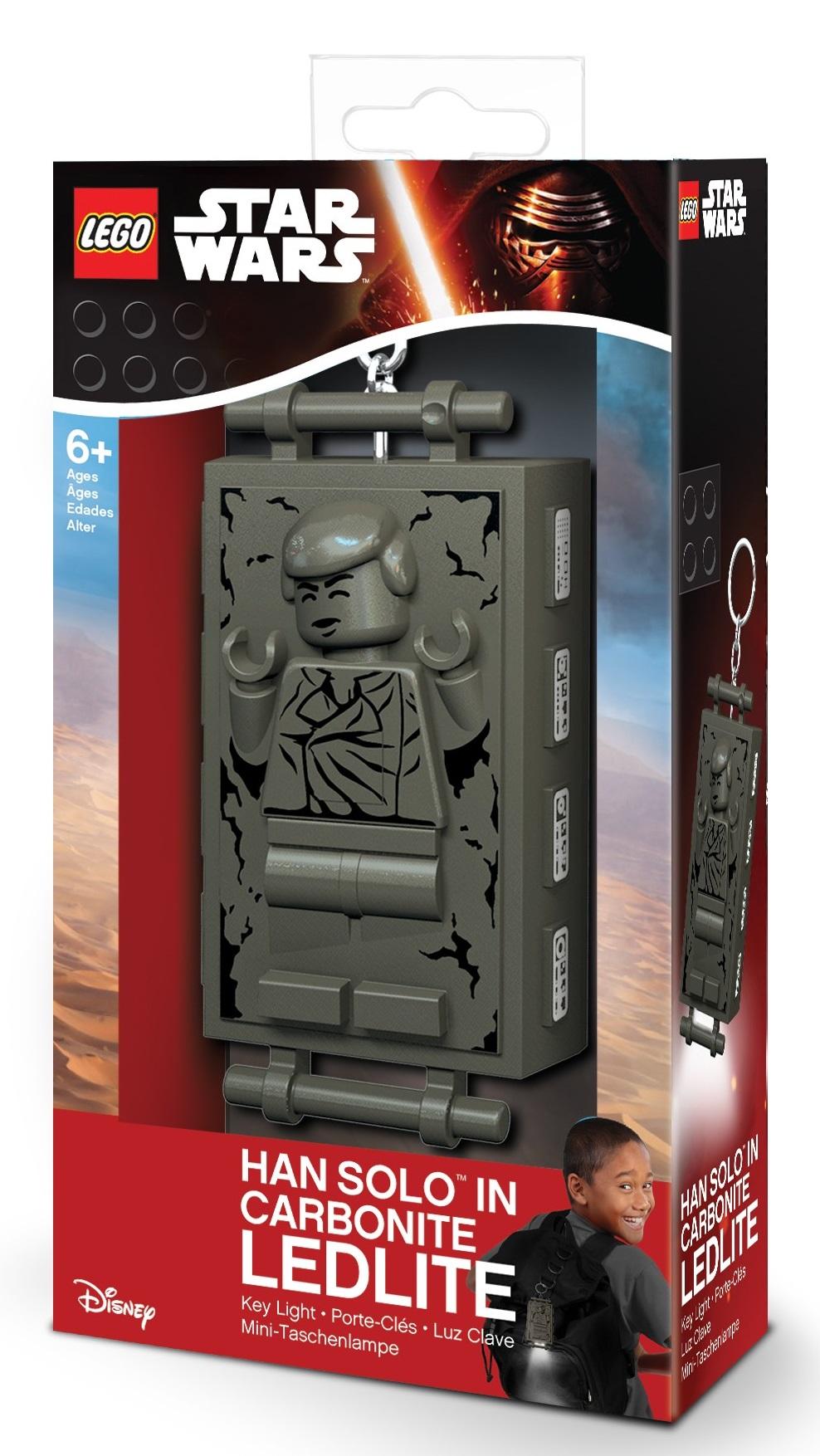 Брелок-фонарик для ключей LEGO Star Wars: Han Solo lego lego брелок для ключей джестро