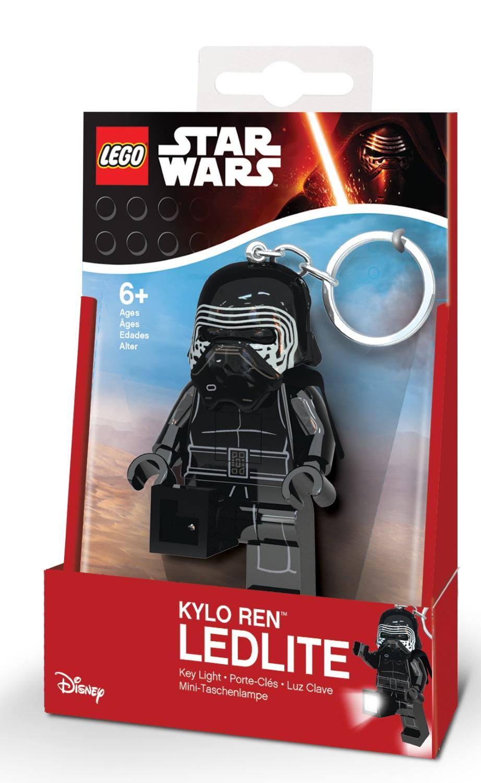 Брелок-фонарик для ключей LEGO Star Wars: Kylo Ren lego lego брелок для ключей джестро