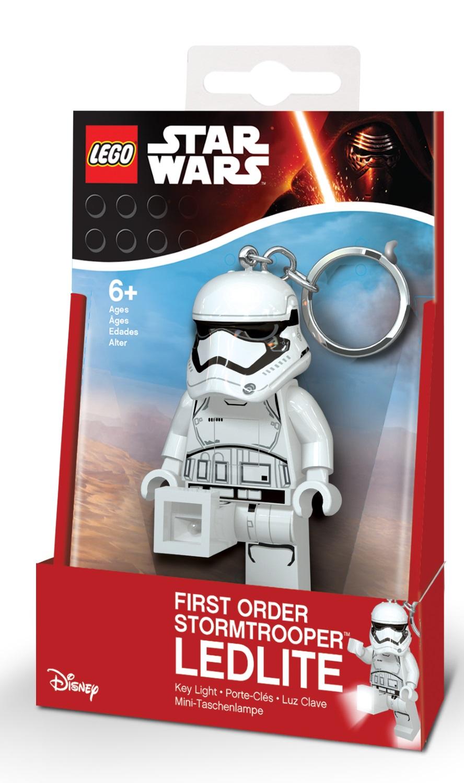 Брелок-фонарик для ключей LEGO Star Wars: First Order StormtrooperБрелок-фонарик Штурмовик станет прекрасным подарком для поклонников фантастической серии. Моделька выполнена в лучших традициях LEGO и поражает своей проработанностью.<br>