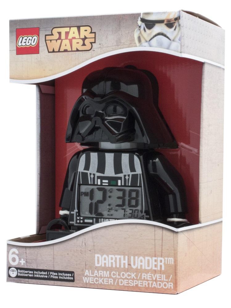 Будильник LEGO Star Wars: Darth VaderЕсли ваш ребенок не любит вставать по утрам, а монотонные звуки будильника вызывают у него слезы или апатию, то утреннее пробуждение необходимо сделать игрой. Для этого отлично подойдет красивый будильник LEGO Star Wars: Darth Vader.<br>