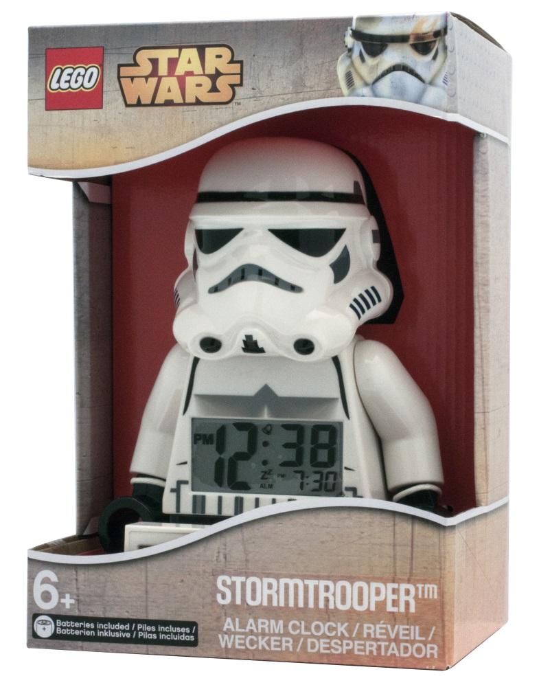 Будильник LEGO Star Wars: StormtrooperЕсли ваш ребенок не любит вставать по утрам, а монотонные звуки будильника вызывают у него слезы или апатию, то утреннее пробуждение необходимо сделать игрой. Для этого отлично подойдет красивый будильник LEGO Star Wars: Stormtrooper.<br>