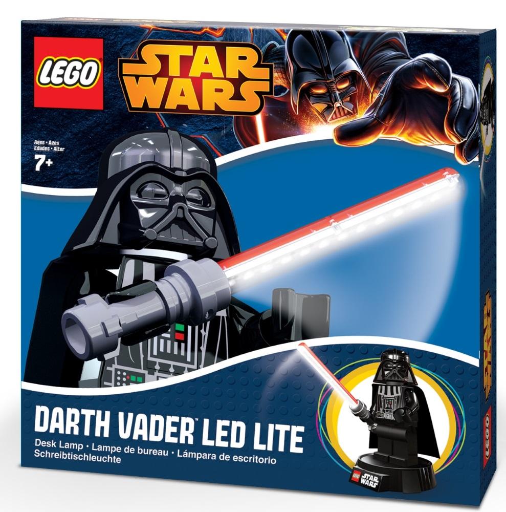 Лампа LEGO Star Wars: Darth VaderЛампа LEGO серии «Звёздные войны» вызовет у вашего ребенка восторг и интерес, а изображение любимого героя вдохновит на подвиги.<br>