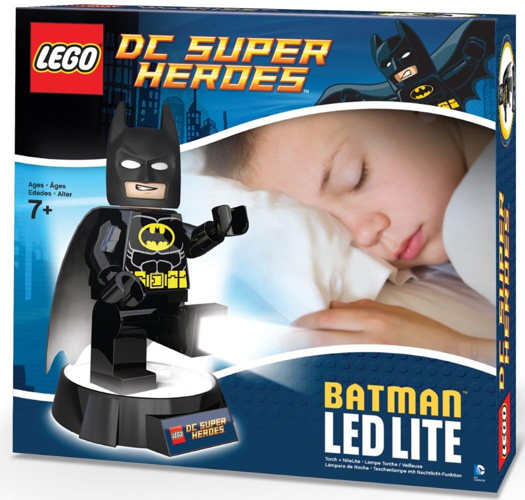 Фонарь LEGO DC Super Heroes: BatmanИнтересный и необычный фонарик-ночник серии DC Super Heroes выполнен в лучших традициях LEGO и поражает своей проработанностью. Он крепится к удобной подставке и выполняет множество полезных функций.<br>