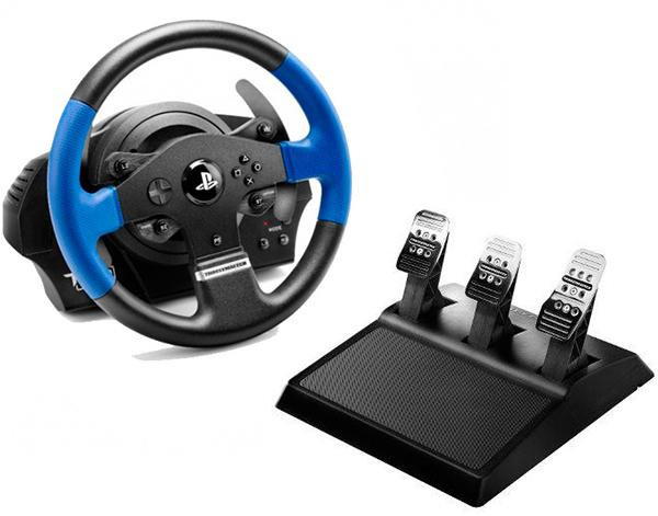 Руль Thrustmaster T150 RS EU PRO Version для PS4 / PS3 / PCПредставляем вашему вниманию гоночный руль Thrustmaster T150 RS EU PRO Version – высокоточный гоночный руль для PlayStation 4, PlayStation 3 и PC, угол поворота которого регулируется в диапазоне от 270° до 1080°.<br>