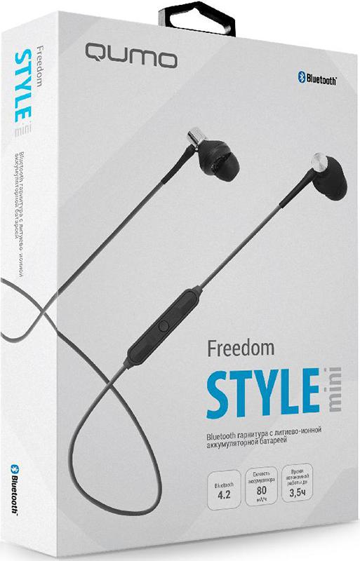 Bluetooth гарнитура Qumo Freedom Style Mini