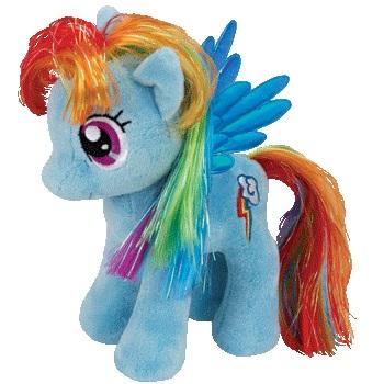 Мягкая игрушка My Little Pony: Пони Rainbow Dash (20 см)Мягкая игрушка My Little Pony: Пони Rainbow Dash создана специально для маленьких ценительниц серии Мой маленький пони.<br>