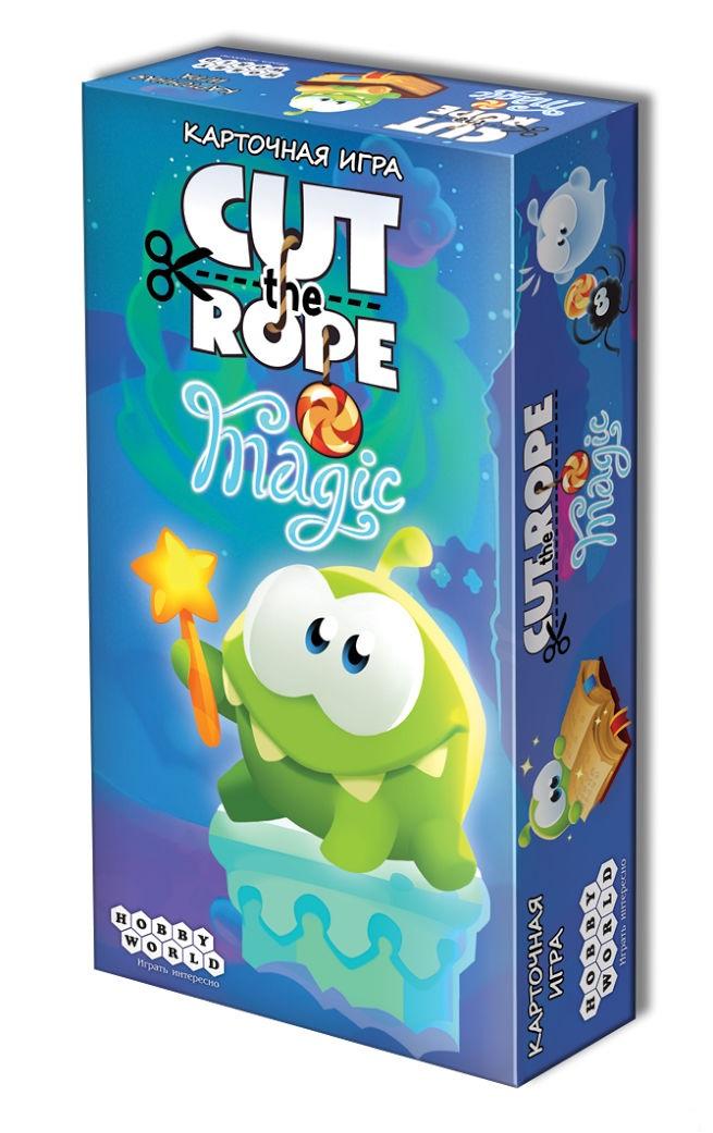 Настольная игра Cut The Rope: MagicНастольная игра Cut the Rope – теперь в новом оформлении! Маленький зелёный монстр Ам Ням собирается подкрепиться леденцами, а вы должны ему в этом помочь.<br>