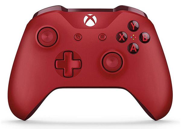 Беспроводной геймпад для Xbox One с 3,5 мм разъемом и Bluetooth (красный)Играйте как никогда прежде с беспроводным геймпадом для Xbox One с 3,5 мм разъемом и Bluetooth. Уникальные импульсные курки дают обратную вибрационную связь, так что вы ощутите малейшую тряску с неимоверной точностью.<br>