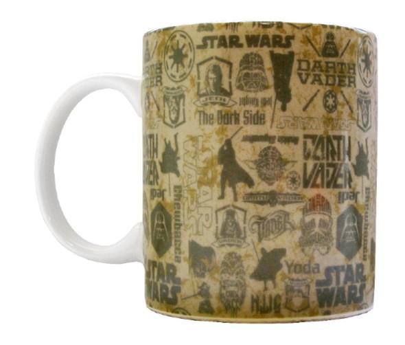Кружка Звёздные войны: Logo (330 мл)Кружка Звёздные войны: Logo создана по мотивам популярной космической саги «Star Wars».<br>