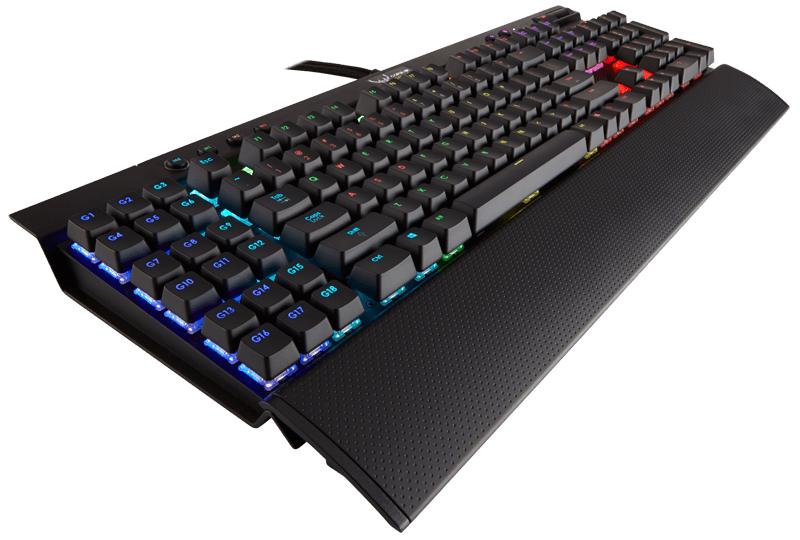 Клавиатура Corsair Gaming K95 RGB Cherry MX Brown проводная игровая для PCИгровая клавиатура Corsair Gaming K95 RGB Cherry MX Brown обеспечивает производительность легендарной K95 и вдобавок обладает функцией поклавишной подсветки с практически безграничными вариантами игровых настроек.<br>