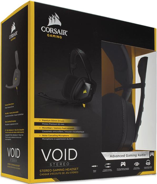 все цены на  Гарнитура Corsair Gaming Void Stereo для PC  онлайн