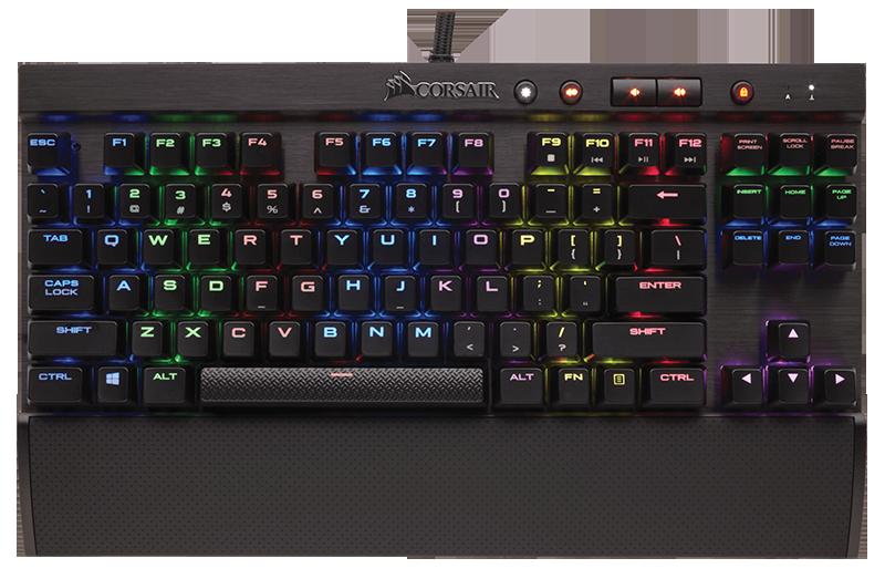 Клавиатура Corsair Gaming K65 RGB Rapidfire проводная игровая для PCКлавиатура K65 RGB Rapidfire является сверхбыстрой компактной клавиатурой с механическими переключателями. Чтобы состязаться на самом высоком уровне, вам необходима самая быстрая клавиатура с механическими переключателями.<br>
