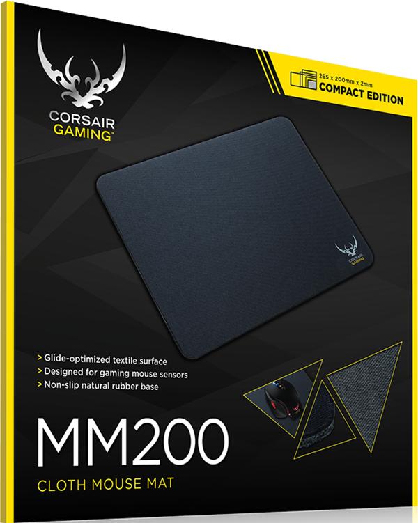 Коврик для мыши Corsair Gaming MM200 для PCОригинальный коврик для мыши Corsair Gaming MM200 подходит для различных игровых стилей и выпускается в нескольких размерах.<br>